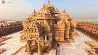 Download Akshardham - A Hindu Temple in New Delhi, India Video