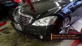 Download Montagem Merces Benz S65 AMG com Vossen Wheels CVT Aro 22″ Video