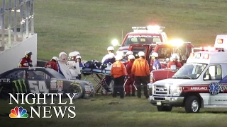 Download Kyle Busch's Daytona Crash Questions Track Safety | NBC Nightly News Video
