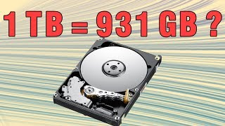 Download Why Hard Drives Are Smaller Than Advertised? - ThioJoeTech Video