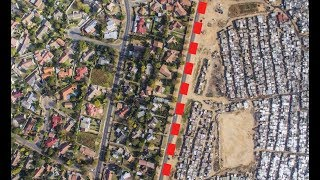 Download A drone captured shocking footage of inequality in Mexico City and South Africa Video