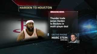 Download James Harden Traded To Houston Rockets Video