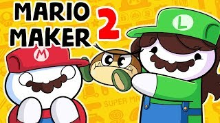 Download DESTROYING Mario Maker 2 with FACTS and LOGIC and JAIDEN Video