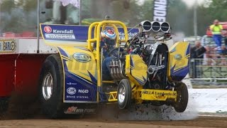 Download Tractor Pulling Team Lambada - Crashes and Damage - Megapull Stroe 2017 Video