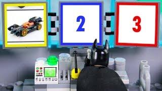 Download LEGO Batman Experimental Batmobile, Construction Drill STOP MOTION LEGO Cars & Trucks   Billy Bricks Video