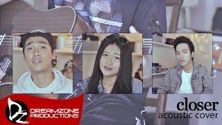 Download Closer (Acoustic Cover) - Sam Mangubat, Jun Sisa & Kris Angelica Video