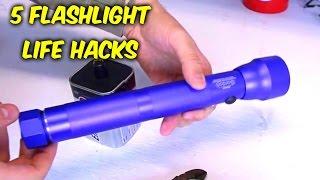 Download 5 Flashlight Life Hacks - Compilation Video