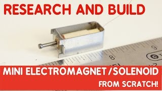 Download How to make a Solenoid with commercial quality from scratch! Mini size! Video