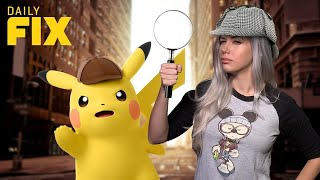 Download Detective Pikachu Comes to 3DS with Giant Amiibo - IGN Daily Fix Video