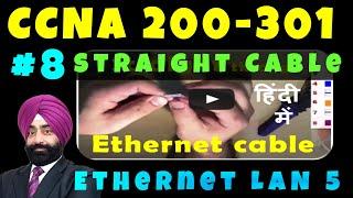 Download Straight Cable Crimping (Hindi) - LAN Cable Crimping Video
