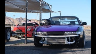 Download I got pulled over/Learning how to drift (Wrapping My 240SX) Video