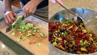 Download Healthy Vegan Recipes - OIL FREE VEGGIE SALAD Video