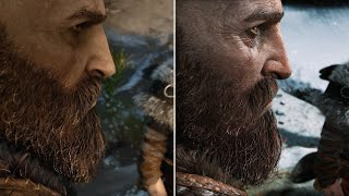 Download God of War: E3 2016 vs. Final Graphics Comparison Video