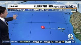 Download Irma now a Category 2 hurricane Video