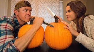 Download Who Will Win Our Family Pumpkin Carving Competition? Video