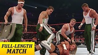 Download Mr. McMahon forces Triple H to run the Gauntlet against The Spirit Squad Video