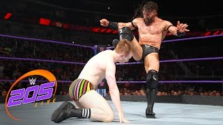 Download Gentleman Jack Gallagher vs. Neville: WWE 205 Live, April 25, 2017 Video