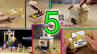 Download 5 Amazing Things You Can Do at Home from Cardboard Video