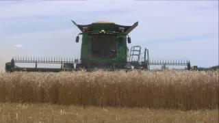 Download 2017 Wheat Harvest Cab Cam - John Deere S700 Series Combine Video
