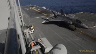 Download USMC F-35B Proof of Concept Test on USS America - Nov 2016 Video