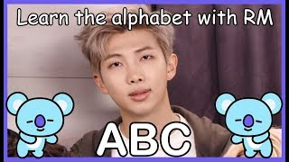 Download LEARN THE ALPHABET WITH BTS' RM Video