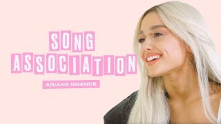 Download Ariana Grande Premieres a New Song from Sweetener in a Game of Song Association | ELLE Video