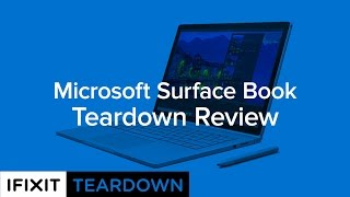 Download Microsoft Surface Book Teardown Review! Video