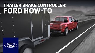 Download Integrated Trailer Brake Controller (TBC) | Ford How-To | Ford Video