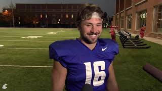 Download Gardner Minshew II after practice Oct. 16 Video