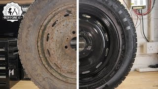 Download Super Rusty Spare Wheel Restoration Video