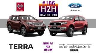 Download H2H #186 Nissan TERRA vs Ford EVEREST Video
