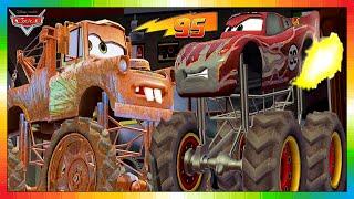 Download CARS 3 2 1 - ESPAÑOL - niños película - 6 de 6 - El Rayo McQueen & Tow Mate Mater Video