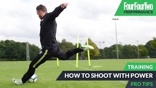 Download How to shoot with power | Pro level soccer training Video