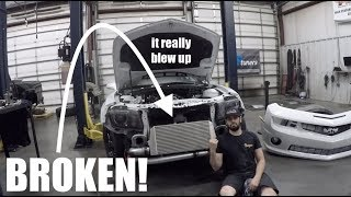 Download What really blew up on my TURBO CAMARO! Video