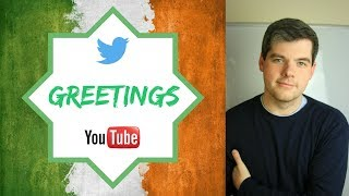 Download IRISH ENGLISH - Episode 1: Greetings Video