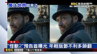 Download 《怪獸2》預告首曝光 年輕版鄧不利多帥翻 Video