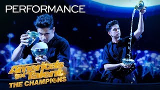 Download Magician Ben Hart Recreates An Indian Ritual With Rice Bowls - America's Got Talent: The Champions Video