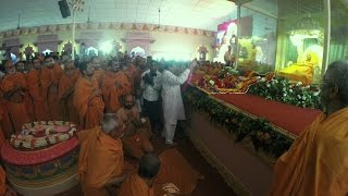 Download P P Hariprasad Swamiji At Sarangpur for H H Pramukhswamiji Maharaj's Last Darshan Video