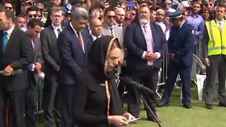 Download 'We are one' says PM Ardern as New Zealand mourns with prayers Video