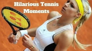 Download HD Hilarious Tennis Moments Part-2 (Funny,Djokovic,Nadal,Federer,Ivanovic,Murray,Wil Video