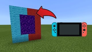 Download How To Make a Portal to the Nintendo Switch Dimension in MCPE (Minecraft PE) Video