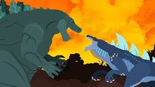 Download Godzilla Earth vs Zilla Jr | DinoMania - Godzilla Cartoons - NEW Episode Video