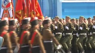 Download Indian army men turn the cynosure of all eyes at Russian Victory Day parade Video