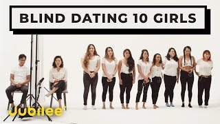 Download 10 vs 1: Speed Dating 10 Girls Without Seeing Them Video
