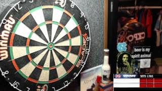 Download Rattlesnake vs Never510 -WDA Darts Video