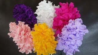 Download How to make easy paper flowers / DIY Mother's day craft Video