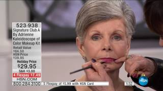 Download HSN | Signature Club A By Adrienne Holiday Beauty 12.03.2016 - 03 PM Video
