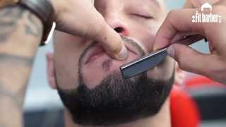 Download Skin Fade with a Beard Trim Haircut Tutorial (Step by Step) Video