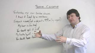 Download English Grammar - Passive Causative Video