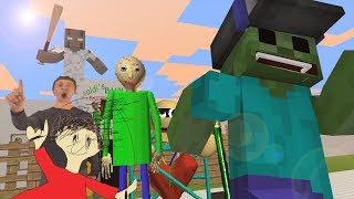 Download Monster School Baldi's Basic vs Granny Minecraft Animation Video